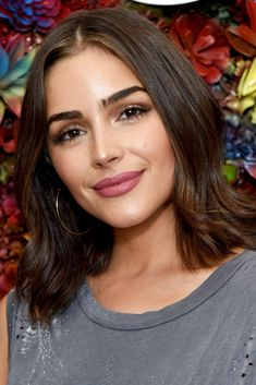 30+ Attractive Shoulder Lenght Hair Style#attractive #hair #lenght #shoulder #style Long Bob Haircuts, Long Bob Hairstyles, Trending Hairstyles, Natural Hairstyles, Girl Hairstyles, Olivia Culpo Hair, Celebrity Bobs, Celebrity Haircuts, Lob Haircut