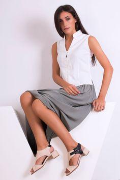 Esturirafi - Blog ecológico: Ray Musgo - Zapatos Ecológicos. Nueva colección Primavera - Verano 2016 Clothes For Women, Work Outfits, Skirts, Spanish, Sandals, Summer, Blog, Shoes, Fashion