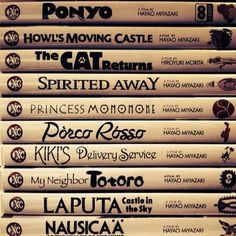 Someone get me this for my birthday. I have howls moving castle and spirited away, okay?