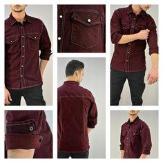 Ανδρικό πουκάμισο με εξώραφα σε μπορντό χρώμα.  #metaldeluxe #mensfashion #mensclothes #winterclothes #winterfashion #shirt #mensshirt #newarrivals #style #shopping #onlineshopping