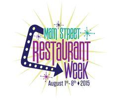 Main Street Restaurant Week - Google Search