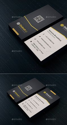 Business Card Template #print #design Download: http://graphicriver.net/item/business-card-vol-44/12002765?ref=ksioks