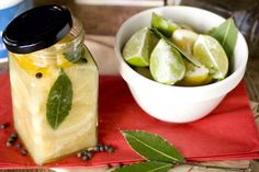 Preserved lemons and limes