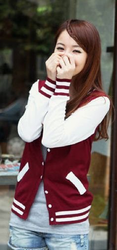 And of course, our absolute fav style -- the varsity jacket
