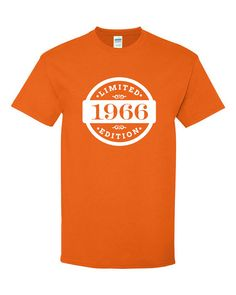 1966 Limited Edition 2016 Birthday T Shirt 50th Gift 50 Years Old Mens Womens Ladies Tee Unisex Modern Custom B 389