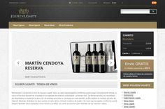 Eguren Ugarte inaugura su nueva enotienda online http://www.vinetur.com/2012112110466/eguren-ugarte-inaugura-su-nueva-enotienda-online.html