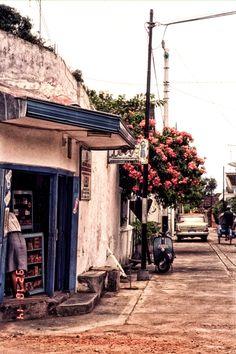 Streets of Surakarta, Indonesia