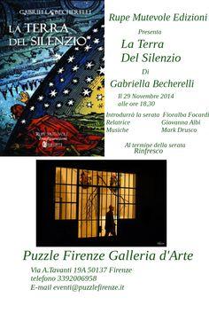 La Terra Del Silenzio @ Firenze via A. Tavanti 50137  - 29-Novembre https://www.evensi.com/la-terra-del-silenzio-firenze-via-a-tavanti-50137-/136938106