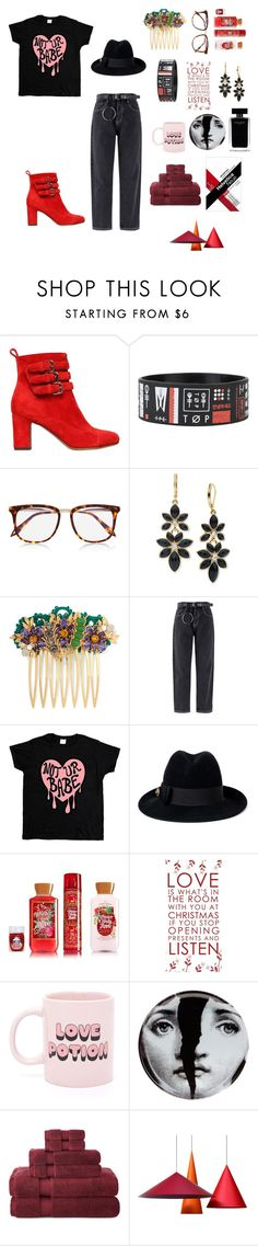 """""""..."""" by misstunis on Polyvore featuring Tabitha Simmons, Victoria Beckham, Anne Klein, Dolce&Gabbana, Gucci, Narciso Rodriguez, ban.do, Fornasetti and Royal Velvet"""