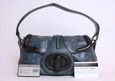 Prada Turnlock on sale on eBay. Basically new, best price on the net.   #prada #bag #turnlock #blue