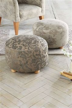 Soft Toile Stool from Next Home Comforts, Cosy, Master Bedroom, Sweet Home, New Homes, Bath, Future, Inspiration, Ideas