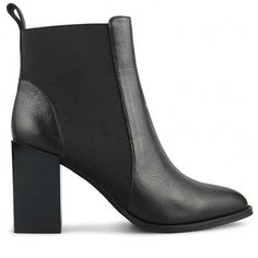 Wittner Harlan Boot Black Leather