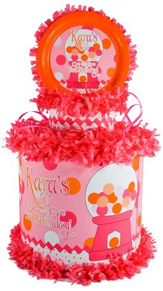 World of Pinatas - Gumball Personalized Pinata, $39.99 (http://www.worldofpinatas.com/gumball-personalized-pinata/)