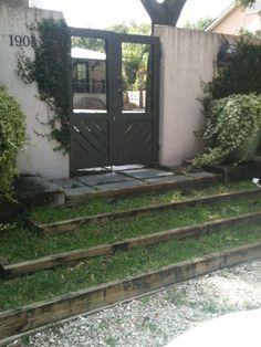 grass steps  http://4.bp.blogspot.com/-kMIk2xtaxJE/UEJtmkefKUI/AAAAAAAAByQ/DgjxnyRaVEA/s1600/Dixon+Lane+steps+and+gate.jpg