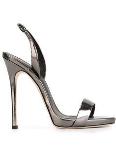 Women's heels - Sling back sandals Black High Heels, High Heels Stilettos, Stiletto Heels, Black Shoes, Women's Heels, Black Patent Leather Shoes, Leather Sandals, Slingback Shoes, Slingbacks