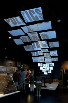 Image result for archival facilities exhibition design