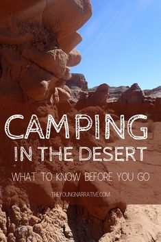 Get ready to camp under the beautiful desert sky. You don't want to miss my tips and trips to make the most out of your trip camping in the desert. Moab Camping, Camping Desert, Stealth Camping, Rv Camping Tips, Camping Glamping, Camping Essentials, Campsite, Outdoor Camping, Camping Storage