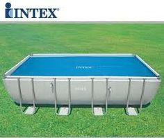 Intex Solar Cover For 18ft X 9ft Rectangular Frame Pools 29026