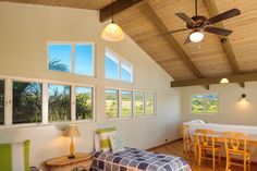 Tour a Charming Oceanfront Home in Poipu, Hawaii | 2016 | HGTV >> http://www.hgtv.com/design/ultimate-house-hunt/2016/living-large-in-small-spaces/living-large-in-small-spaces-oceanfront-pad-in-poipu-hawaii?soc=pinterest