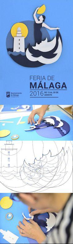 Nos gustaría enseñaros nuestra propuesta para el cartel de la Feria de Málaga porque, ya que no va a ver la luz en las calles, ¡que lo haga en nuestras redes! ;) #Makingof #diseño #FeriaMLG #Málaga #feria
