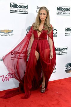 Jennifer Lopez #BBMAs ...she ALWAYS looks amazing, I mean, she never wears ugly dresses or looks ugly!!!