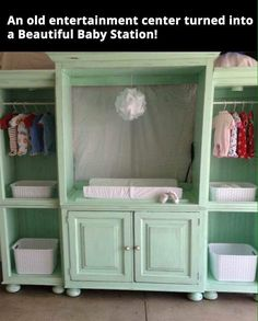 Amazing diy! This would be great for cloth diaper storage!