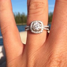 My engagement ring!!! :)