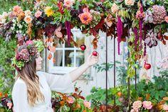 Wedding Wednesday : 3 Weddings in 3 Days Course with Sabine Darrall - Autumn 2015 | Flowerona