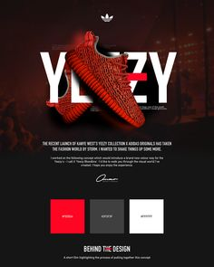 Adidas X Kanye West 'Yeezy Bloodline' Web/App Concept on Web Design Served