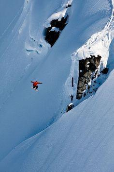 Drop #snowboard #snowboarding