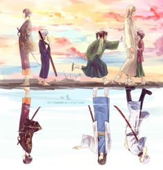Gintama-Dream by Gin-Uzumaki.deviantart.com on @deviantART