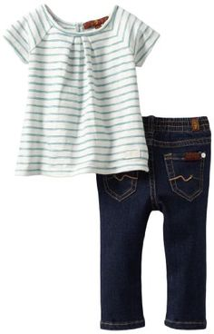 7 For All Mankind Baby-girls Infant Striped Top/Jean Set, Tropical Green/Dark Rinse, 12 Months 7 For All Mankind,http://www.amazon.com/dp/B0096SLIDK/ref=cm_sw_r_pi_dp_N0xKsb0AFY4XDA3N