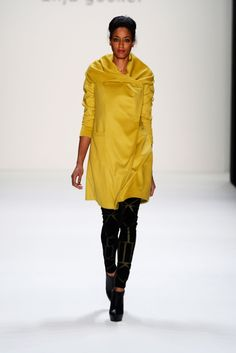 Anja Gockel FW 2013/ Black Yellow