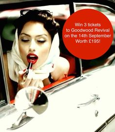 If you love your car, you'll love this COMPETITION to WIN 3 tickets worth £195 (for you & 2 of your best mates) to GoodWood Revival next Month! Enter here to win > > https://www.facebook.com/pages/Chipex/205559142905227?sk=app_747168478676129 (Enter comp via desktop only) #Competition #GoodwoodRevival