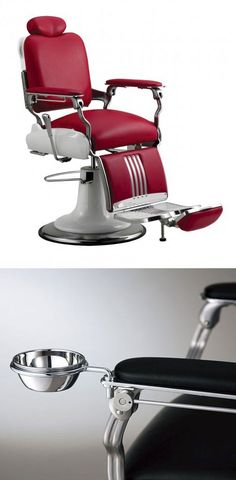 Classic Barber chairs. They don't make em like this anymore