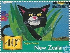Postage Stamps - New Zealand - Children