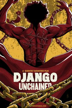 DJANGO Unchained Poster by *DazTibbles on deviantART