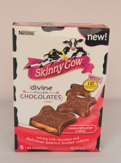 Skinny Cow  Divine Filled Chocolates #JollyVoxBox @Influenster