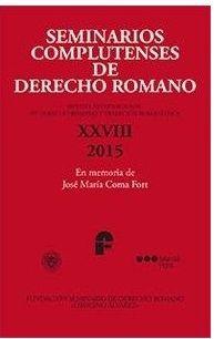 Seminarios Complutenses de Derecho Romano