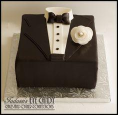 Tuxedo Grooms Cake