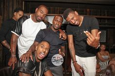 Video: James Harden, Trey Songz, Wale, Lauren London Celebrated Kevin Hart's Birthday During Essence Weekend ~ Money Team Mag