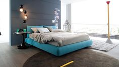 Bright and modern colors for your bedroom