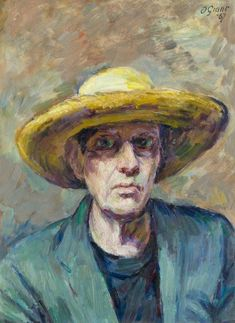 Self Portrait, Duncan Grant (1885–1978), Aberdeen Art Gallery & Museums