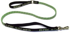 ROK Straps Large Leash, Green and Black ** Tried it! Love it! Click the image. : Dog leash