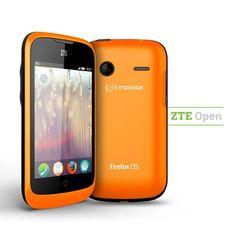ZTE OPEN es el primer teléfono inteligente con sistema operativo Firefox OS desarrollado con la ayuda de Telefónica.
