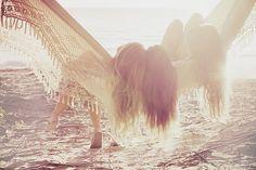 Hammock. Hanging Out. aaaahhhhhh......Beach. Vacay. Beach Hair.