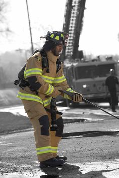 Firefighter in action | Shared by LION