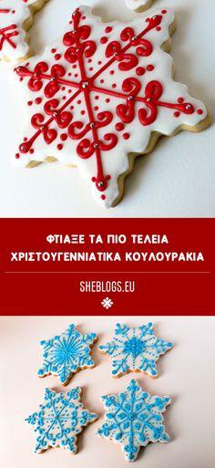 Τέλεια Χριστουγεννιάτικα κουλουράκια 12 Days Of Xmas, Christmas Cookies, Sugar, Breakfast, Desserts, Recipes, Food, Kitchens, Xmas Cookies