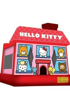 Hello Kitty Bouncy Castles  #hellokitty #bouncy #castles #inflatables #play #kids