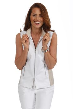 J'envie at Jonathan Fashion | FALL 2014 | casual vest